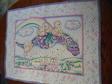 """DRAGON AND CASTILE BABY QUILT 35"""" BY 44"""""""