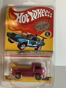 Hot Wheels Red Lines Neo-Classics Beach Bomb Pickup Truck Surf w/Boards Series 5