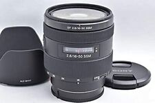 """MINT W/HOOD"" Sony SAL1650 16-50mm F/2.8 DT SSM Lens 113"