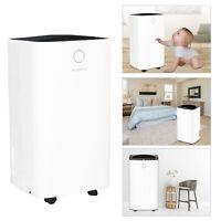 12L Luftentfeuchter Schlafzimmer Bautrockner Entfeuchter leiser LED Display