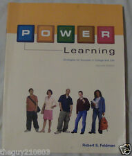 Power Learning : Strategies for Success for College and Life by Robert...