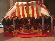 PLAYMOBIL Zirkus 4230 viel Zubehör/Band/Instrumente/Besucher/Artisten