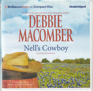 Debbie Macomber Nell's Cowboy 5CD Audio Book Heart Of Texas Vol 3 Unabridged