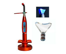 Dental LED Curing & Whitening Light Lamp Wireless 5W 1500mw Blue Light Red