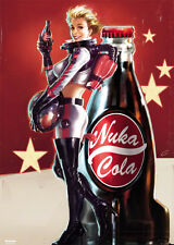 RIESEN Poster FALLOUT 4 - Nuka Cola Girl Standing (Game) ca100x140cm NEU FL597