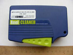 USCONEC NTT-AT Fiber Optic Connector Reel Cleaner SC FC ST LC LU MTP-F MTPRJ-F