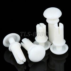White Plastic Nylon Rivets R2 R2.6 R3 R3.5 R4 R5 R6 Blind & Drive Rivets