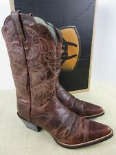 ARIAT 10010968 HERITAGE WESTERN J-TOE WOMENS SIZE 8 WESTERN BOOT