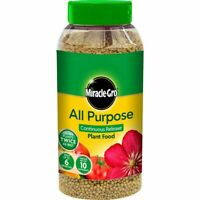 Miracle-Gro All Purpose Grow, Slow Continues Release Plant Food 1KG