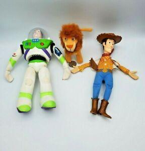 Burger King Toy Story Talking Buzz Lightyear & Woody Lot + McDonald's Simba Lion