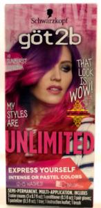 Schwarzkopf Got2b Unlimited Semi-Permanent Hair Color, 110 Sunburst Collection