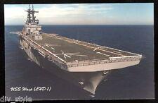 USS Wasp lhd-1 Tarjeta Postal NOS MARINA Anfibio Assault Enviar