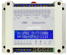 1Pcs PTR4-SP Four programmable time relay / 99 step multi-channel timer Module