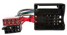Adaptateur faisceau câble fiche ISO pour autoradio pour Fiat Qubo Scudo Ulysse
