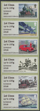LABOUR Party Conference Post & Go  RM500 Liverpool 2016 strip of 6 x 1st class