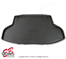 Black Cargo Liner Tray Trunk Floor Mat Custom Fit For Honda Civic 4 Door 2016-17