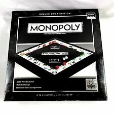 Monopoly Deluxe Black Onyx Edition 80Th Anniversary Made in USA Barnes and Noble