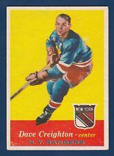 DAVE CREIGHTON 57-58 TOPPS 1957-58 NO 66 EX+ 2
