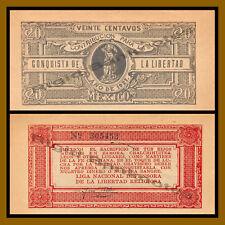 Mexico 20 Centavos, 1927 Conquesta De La Libertad Unc