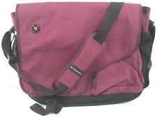 Victorinox Swiss Army Purple Laptop Messenger Cross-body backpack Bag Briefcase