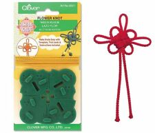 Clover Flower Knot Maker Template  Asian Knot with Detailed Instructions