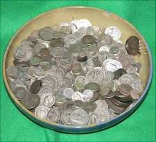 6 Ounce Lot of USA 90% Silver Coins Halves, Quarters, & Dimes Good Junk Bullion