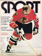 Sport Magazine May 1972 Bobby Hull - SHIPPED IN A BOX