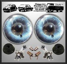 "Ford Escort Mk2 Classic Flat 7"" Sealed Beam Halogen Conversion Headlight Kit"