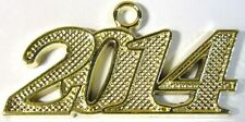 NEW 2014 Gold Tone Graduation Tassel Charm for Cap or Chain