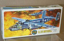 AIRFIX 485 serie 4 seconda guerra mondiale USAF B25 MITCHELL BOMBER MINT BOXED AR