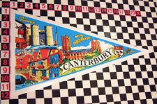 Grand Canterbury vacances voyage sticker de vitre camping-car auto classique