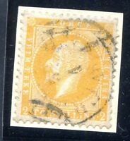 NORWAY Sc # 2 a Used by Christiania cds, Couple of Short Perfs 2 t TRF SCV $200