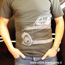 T-SHIRT  Fiat 500 colore Grigio tg.  M / L / XL