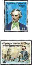 Timbres Communications Congo 826/7 ** lot 17970