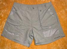 Men's Columbia Sportswear Performance Fishing Gear Tan Khaki Shorts Size 38 NEW