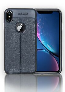 For Apple iPhone Case Cover Ultra Slim Black Rubber  X XR XS XS MAX ✅