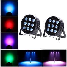 2PCS 120W 9 LED Par Stage Light RGBW LED DMX LED Show Club DJ Disco Party Light