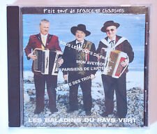 CD ALBUM ACCORDEON / LES BALADINS DU PAYS VERT - P'TIT TOUR DE FRANCE EN CHANSON