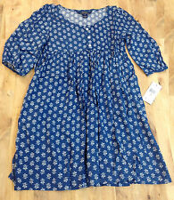 Ralph Lauren Girls' Floral-Print Empire-Waist Dress, Size 7, MSRP $69.5