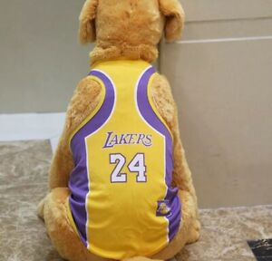 Dog Vest Pet Clothing Puppy Clothes Sport Summer Shirt Lakers Jersey XS-6XL