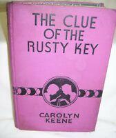 Nancy Drew - The Clue of the Rusty Key by Carolyn Keene  1942