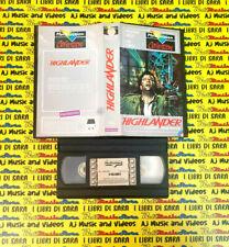 VHS film HIGHLANDER L'ULTIMO IMMORTALE 1986 Lambert MULTIVISION (F199) no dvd