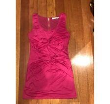 Ladies Dress Mink Pink Size Medium Womens Clothing Mini Dress Magenta Pre Loved