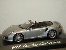 Porsche 911 991 Turbo Cabriolet - Minichamps 1:43 in Box *37478