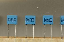300pcs B32529C1103K 10nf 100V 10% Capacitor polyester MKT R5 SIEMENS