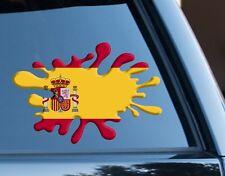 Spain Spanish Splat fun Decal Sticker Car Laptop suit case Rugby Football Sport