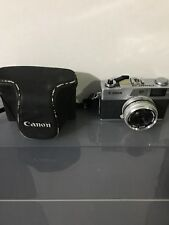 Canon Canonet 28 35mm Film Camera with Lens +  case