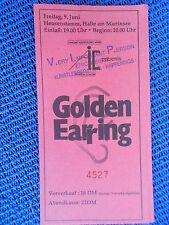 GOLDEN EARING 1988  VIP  ORIGINAL CONCERT - KONZERT - Ticket