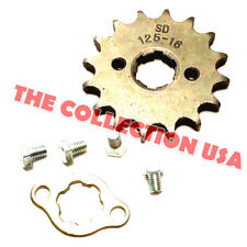 New #428 Chain Front Pinion Sprocket With 16 Teeth For Atv, Dirt Bike, Go Karts