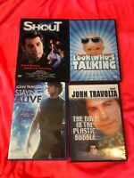Shout DVD John Travolta RARE - The Boy In The Plastic Bubble, Staying Alive***